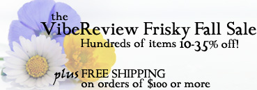 VibeReview's Frisky Fall Sale - Happening Now!