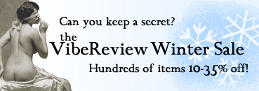 The VibeReview Winter Sale.  Happening Now.