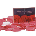 A Bed of Roses: Arrange these rose petals in your lover's room and give your special someone a vibrating sex toy.