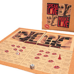 Speak Love Make Love: Play romantic and sexual games with your partner who loves vibrating sex toys, G-Spot dildos, and clit vibes.