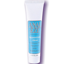 Anal Eze: Make anal sex and butt sex toys more comfortable with this new type of lube.