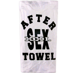 After Sex Towel: Women and men need a clean up towel after masturbating with vibrators, love rings, clit vibes, and other innovative sex toys and adult products.