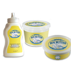 Boy Butter: Boy Butter is thick and smooth for your sexual best.