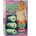 Glow-In-The-Dark Stroker Kit: Adult toys and masturbation strokers are exciting sex toys for men