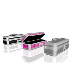 Lockable Vibrator Case: Hide your vibrators, prostate stimulators, and anal dildos in this lockable sex toy case that both sexually active men and women like.