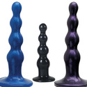 Ripple: Imagine anal beads in the shape of a smoothly textured dildo sex toy for women and men.